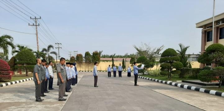PTA Padang Selenggarakan Upacara Hari Pahlawan ke - 74