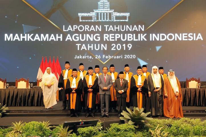 Ketua PTA Padang menghadiri Sidang Istimewa Laporan Tahunan Mahkamah Agung RI tahun 2019