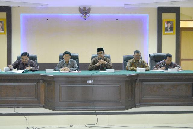 Rapat Koordinasi Pimpinan Sewilayah Pengadilan Tinggi Agama Padang