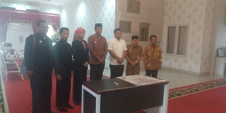 Ketua PTA Padang Hadiri Pencanangan Zona Integritas Pengadilan Agama Pulau Punjung