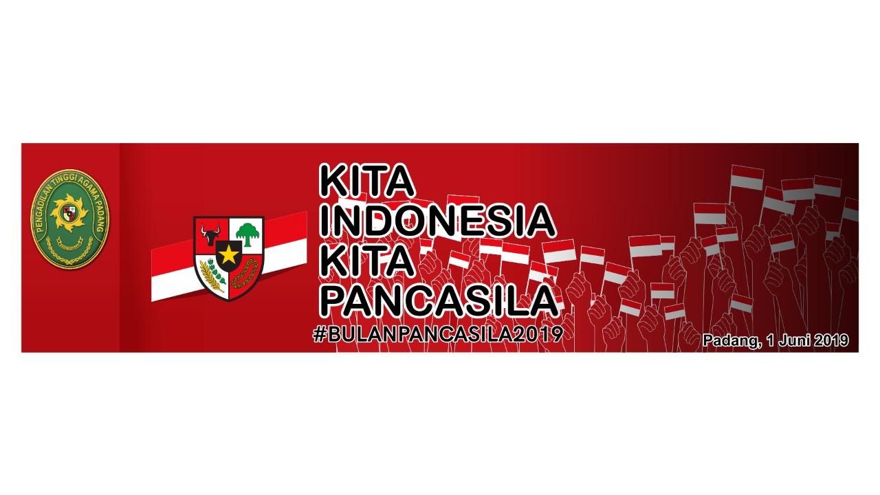 Upacara Hari Lahir Pancasila di PTA Padang Tahun 2019