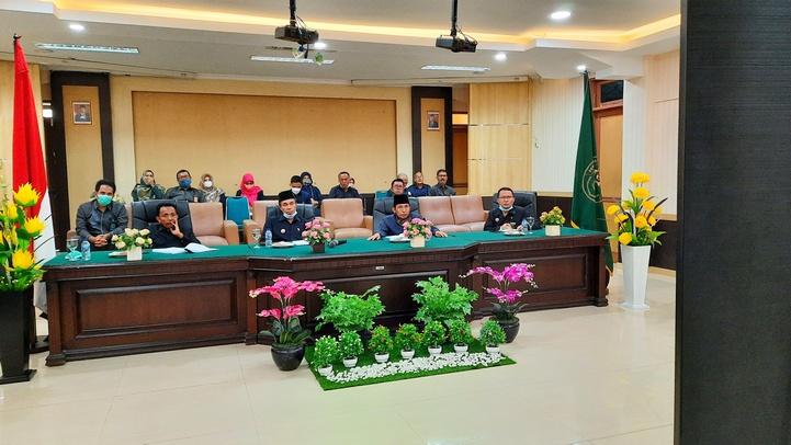 Entry Meeting Penilaian Desk Evaluasi Pelaksanaan Pembangunan Zona Integritas Menuju Wilayah Bebas Korupsi WBK