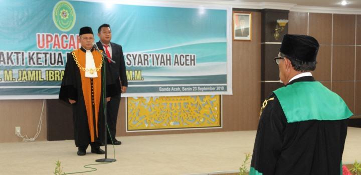 Ketua Pengadilan Tinggi Agama Padang hadiri Wisuda Purnabakti Ketua Mahkamah Syar'iyah Aceh