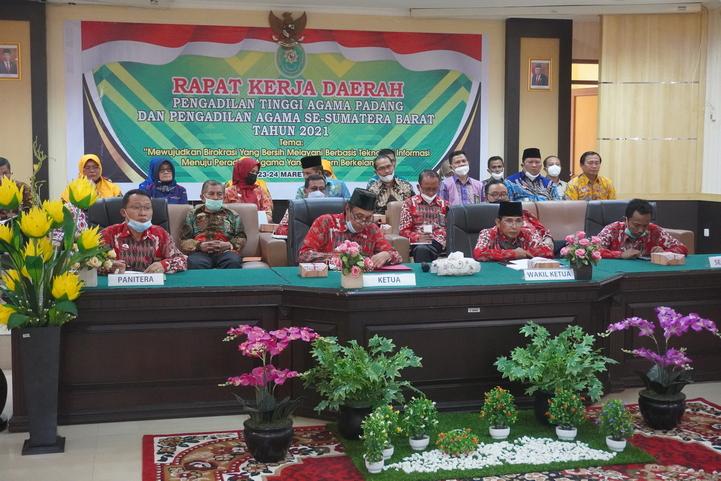 PTA Padang Selenggarakan Rapat Kerja Daerah Tahun 2021