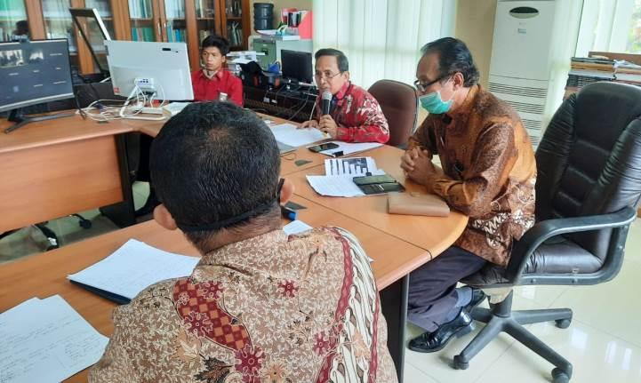 Rapat Persiapan Desk Evaluasi Zona Integritas