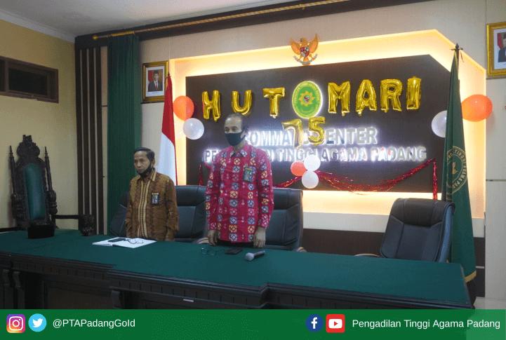 PTA Padang Mengikuti Seminar Budaya Kerja dan Tata Nilai MA Secara Virtual
